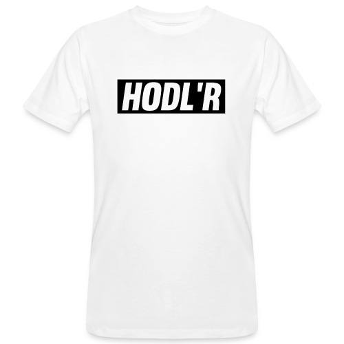 HODL'R - For the real crypto fans - Mannen Bio-T-shirt