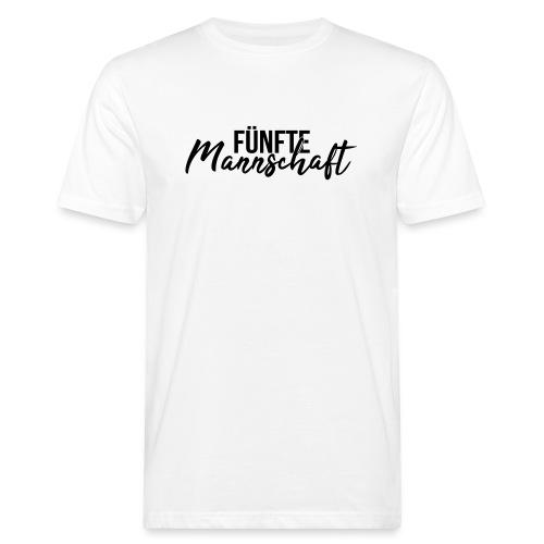Fünfte Mannschaft Mixed - Männer Bio-T-Shirt