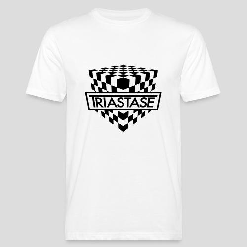 Triastase Logo Black - Men's Organic T-Shirt