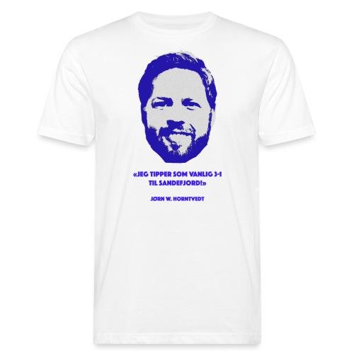 Horntvedt - Økologisk T-skjorte for menn