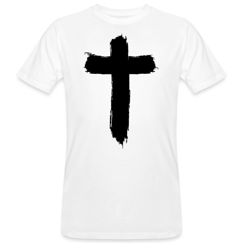 Brushed-Cross - Männer Bio-T-Shirt