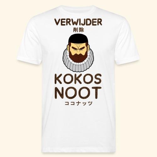 Verwijder Kokosnoot - Mannen Bio-T-shirt