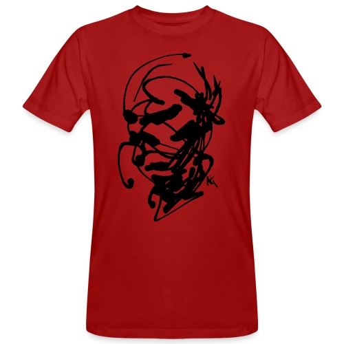 face - Men's Organic T-Shirt