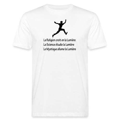 Lumière Religion Science Mystique - T-shirt bio Homme