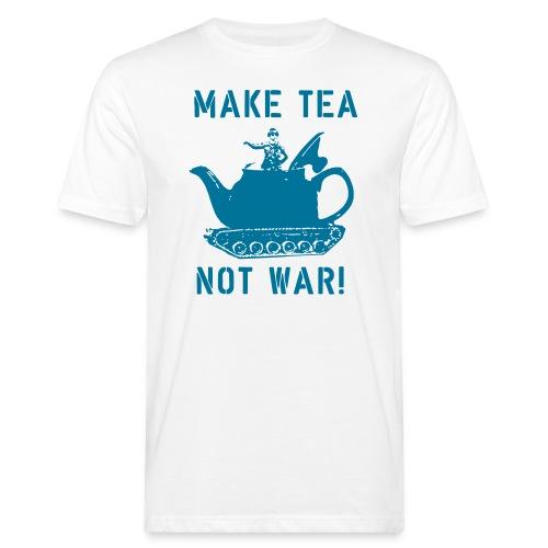 Make Tea not War! - Men's Organic T-Shirt