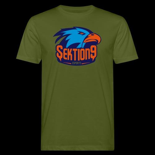 Orange/Blau - Männer Bio-T-Shirt