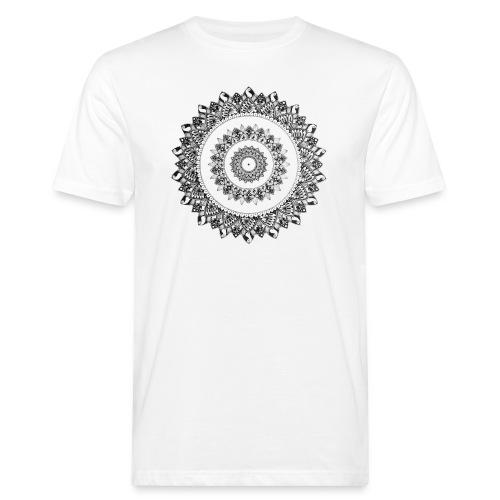 Mandala Black&White - T-shirt ecologica da uomo