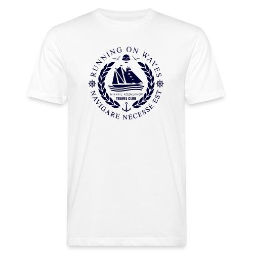 RUNNING ON WAVES - Men's Organic T-Shirt