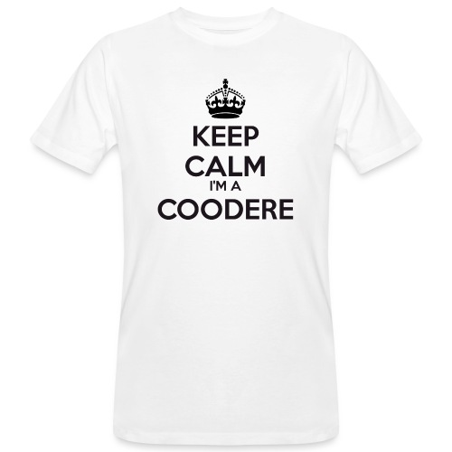 Coodere keep calm - Men's Organic T-Shirt