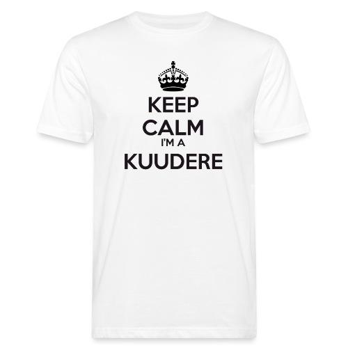 Kuudere keep calm - Men's Organic T-Shirt