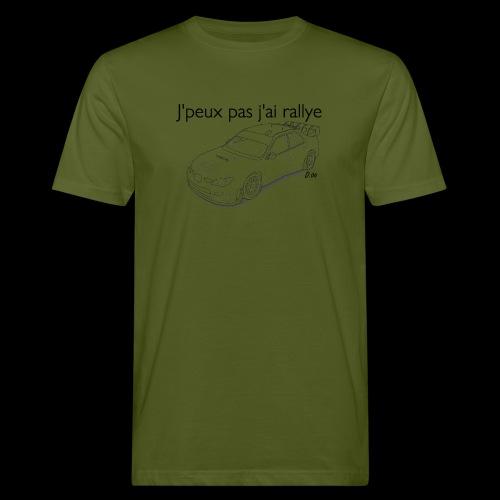 J'peux pas j'ai rallye - T-shirt bio Homme