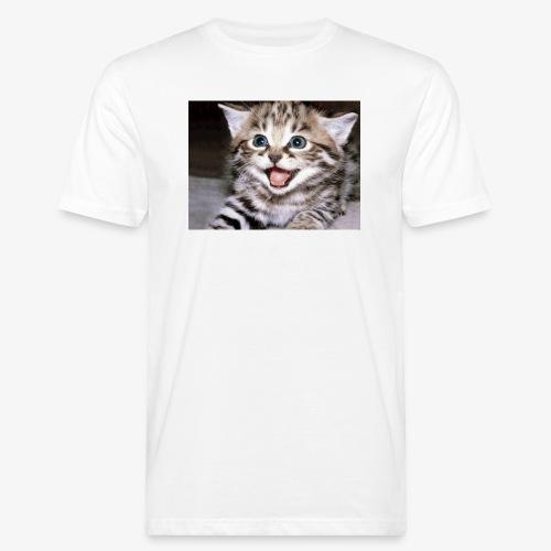 Cute Cat - Men's Organic T-Shirt