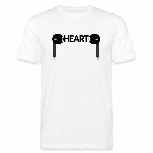 ListenToYourHeart - Ekologiczna koszulka męska