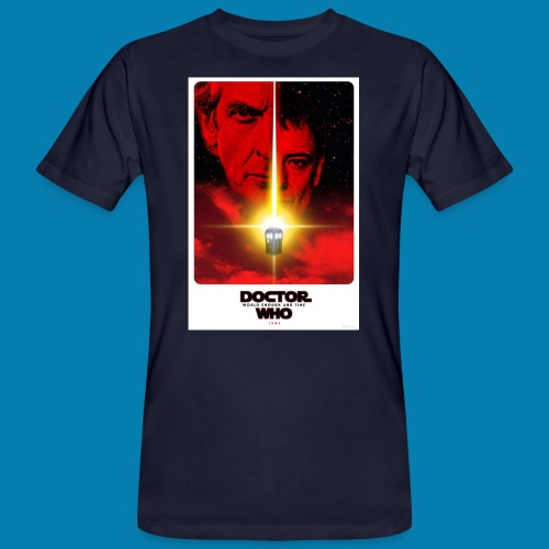 Twelfth Doctor and the Master poster - T-shirt ecologica da uomo