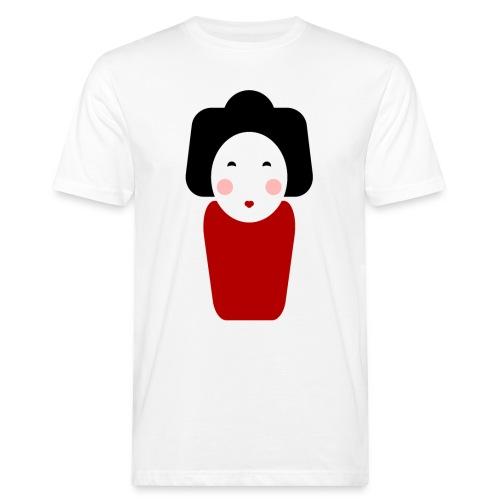 Geisha - Männer Bio-T-Shirt