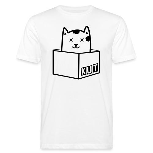 Black Vector Kitten Under Tire Records - Mannen Bio-T-shirt