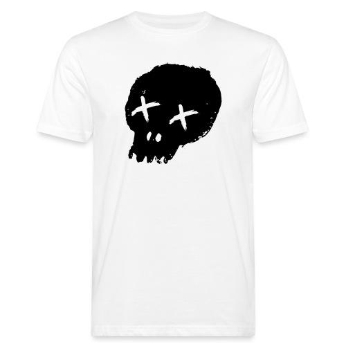 blackskulllogo png - Men's Organic T-Shirt