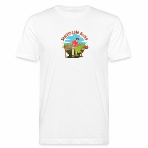 Cáñamo Sustentable en Inglés (Sustainable Hemp) - Camiseta ecológica hombre