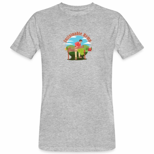 Cáñamo Sustentable en Inglés (Sustainable Hemp) - Camiseta ecológica hombre