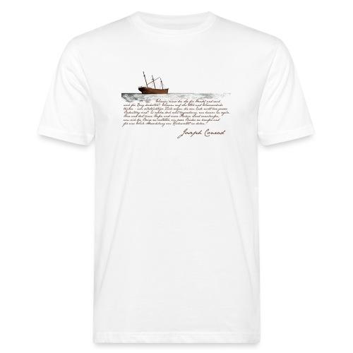 conradwrack - Männer Bio-T-Shirt