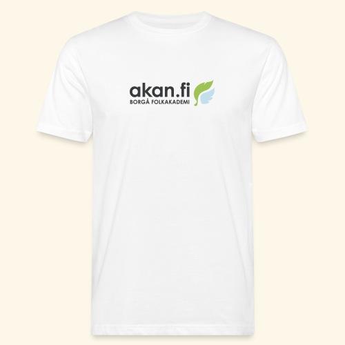 Akan Black - Ekologisk T-shirt herr