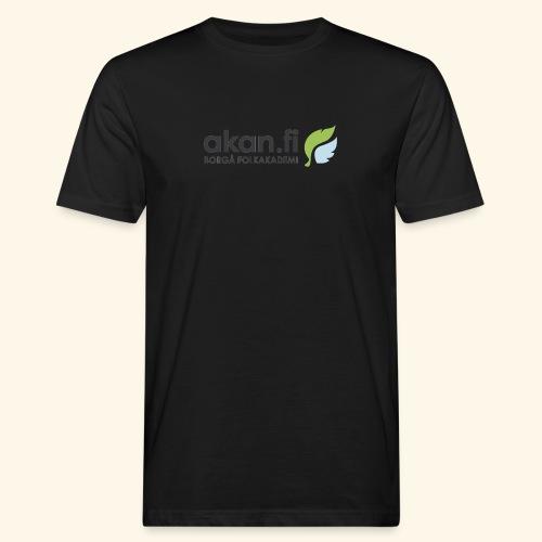 Akan Black - Miesten luonnonmukainen t-paita