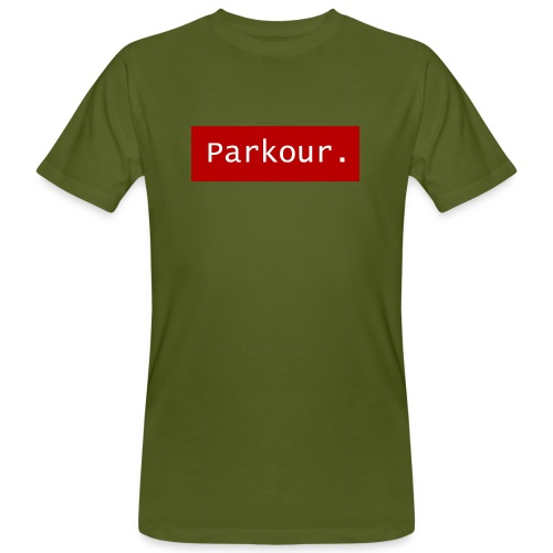 Parkour. - Mannen Bio-T-shirt