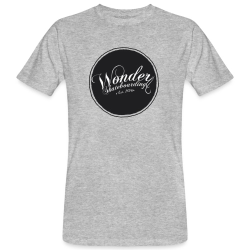 Wonder T-shirt - oldschool logo - Organic mænd