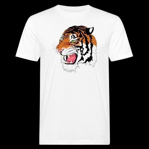 Sumatra Tiger - Männer Bio-T-Shirt