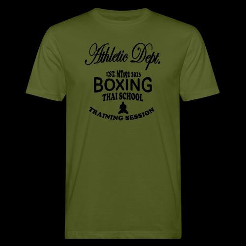 (high_school_couleur_uni) - T-shirt bio Homme