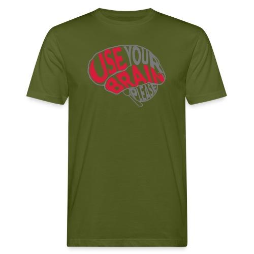 Use your brain - T-shirt ecologica da uomo