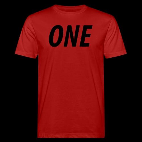 WEAREONE x LETTERS - Mannen Bio-T-shirt