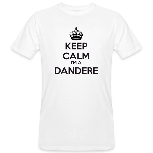 Dandere keep calm - Men's Organic T-Shirt