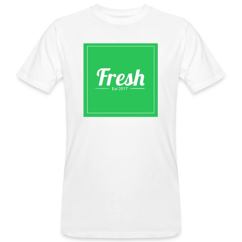 Green square - Men's Organic T-Shirt