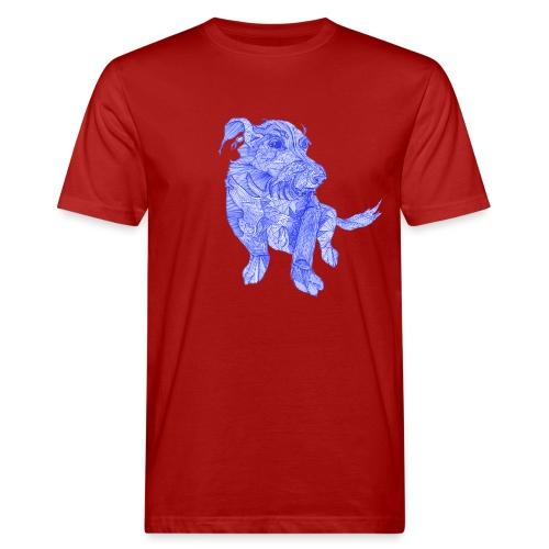 Das ist wohl ein chinesischer Drachen - Hund - Männer Bio-T-Shirt