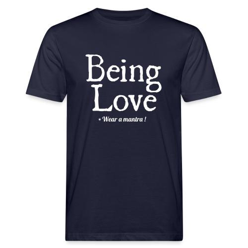 BEING LOVE - T-shirt ecologica da uomo