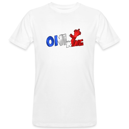 Logo ONLY KING edition francaise - T-shirt bio Homme