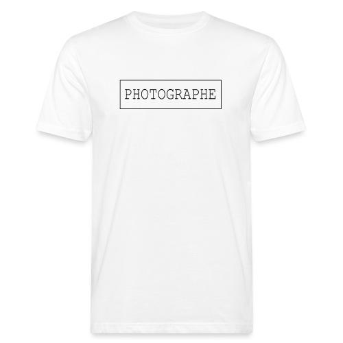 PHOTOGRAPHE - T-shirt bio Homme