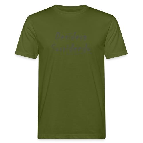 desidera sorridendo - T-shirt ecologica da uomo
