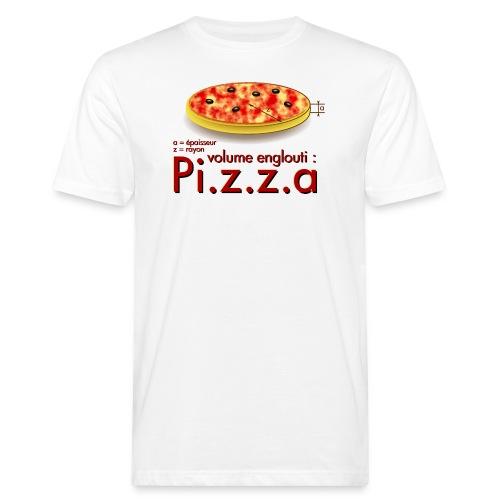 Pi z z a - T-shirt bio Homme