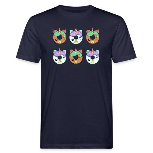 Unicorn Donut - T-shirt ecologica da uomo