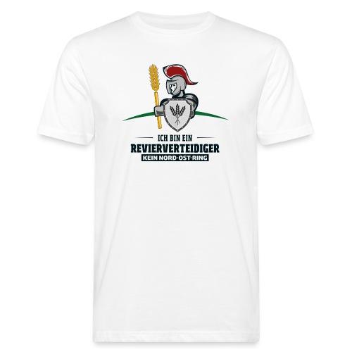Revierverteidiger rot - Männer Bio-T-Shirt