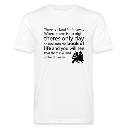 revelation of rastafari - Men's Organic T-Shirt
