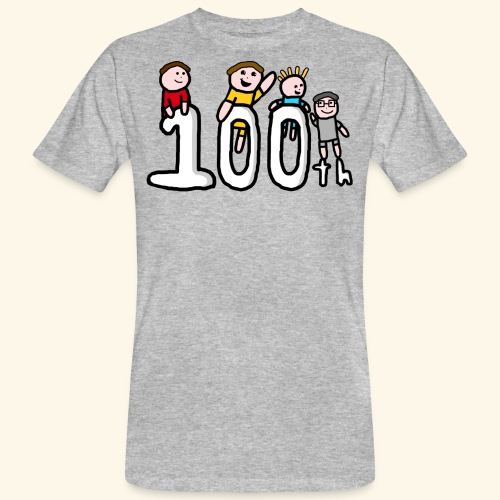 100th Video - Men's Organic T-Shirt