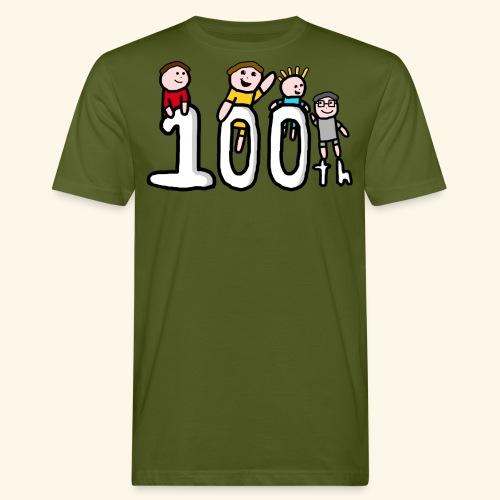 100th Video - Men's Organic T-Shirt