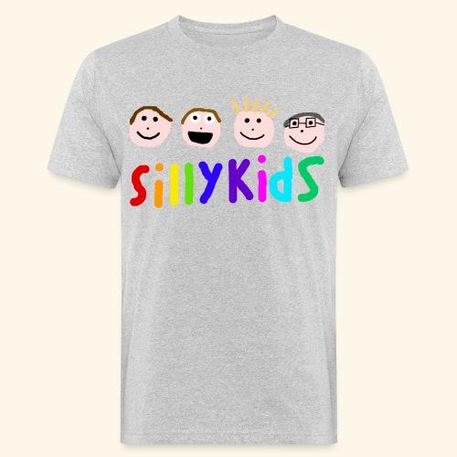 Sillykids Logo - Men's Organic T-Shirt