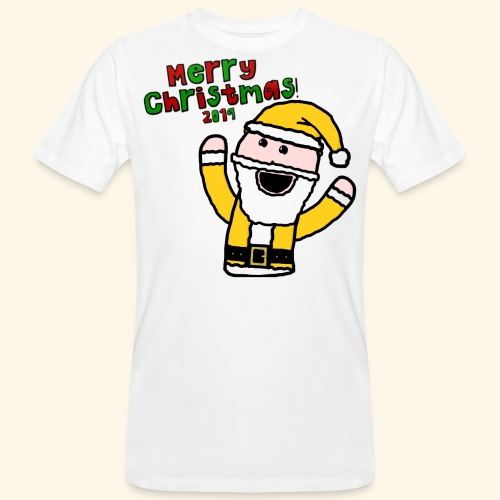 Santa Kid (Christmas 2019) - Men's Organic T-Shirt
