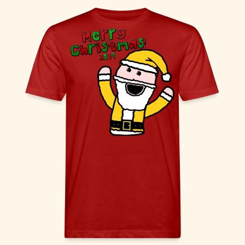 Santa Kid (Christmas 2019) - Men's Organic T-Shirt