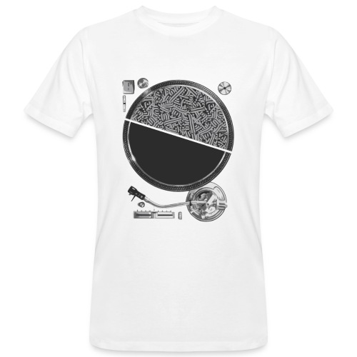 Turntable - T-shirt bio Homme