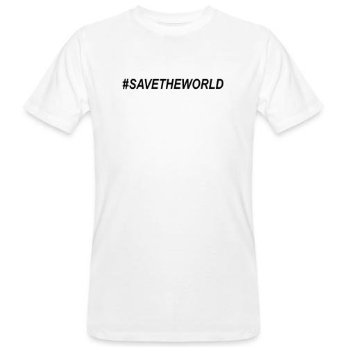 #SaveTheWorld - Ekologisk T-shirt herr